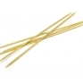 Bamboo Knitting Needles 15cm, 3.75mm