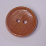 Wooden button two holes,26mm