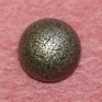 Metal heel button 16 mm, old copper